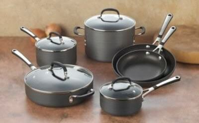 Calphalon SA10H Simply Calphalon 10 Piece Nonstick Cookware Set3