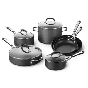 Calphalon SA10H Simply Calphalon 10 Piece Nonstick Cookware Set4