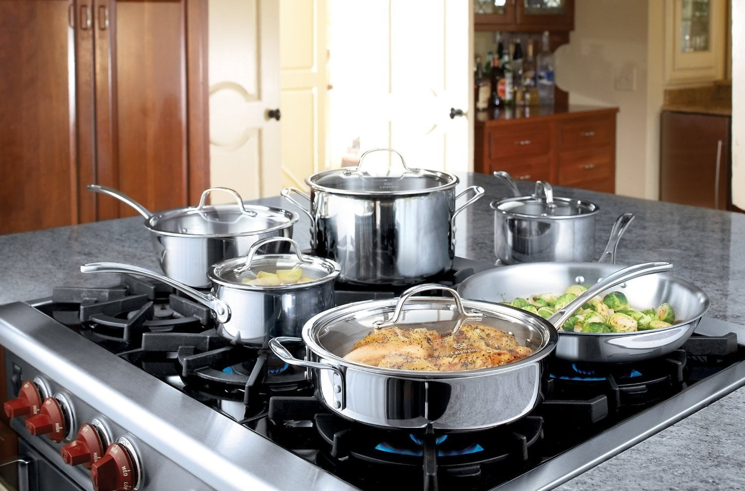 Calphalon Tri-Ply Stainless Steel Cookware Set Review2