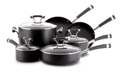 Circulon Contempo Hard Anodized Nonstick 10-Piece Cookware Set