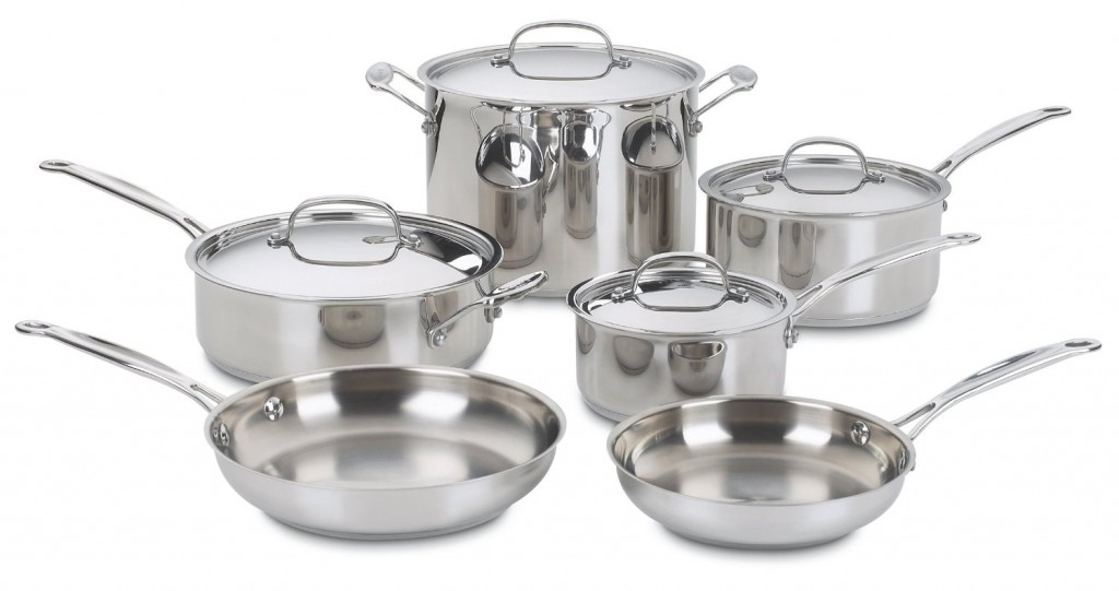 Cuisinart 77-10 Chef's Classic Stainless-Steel 10-Piece Set Review