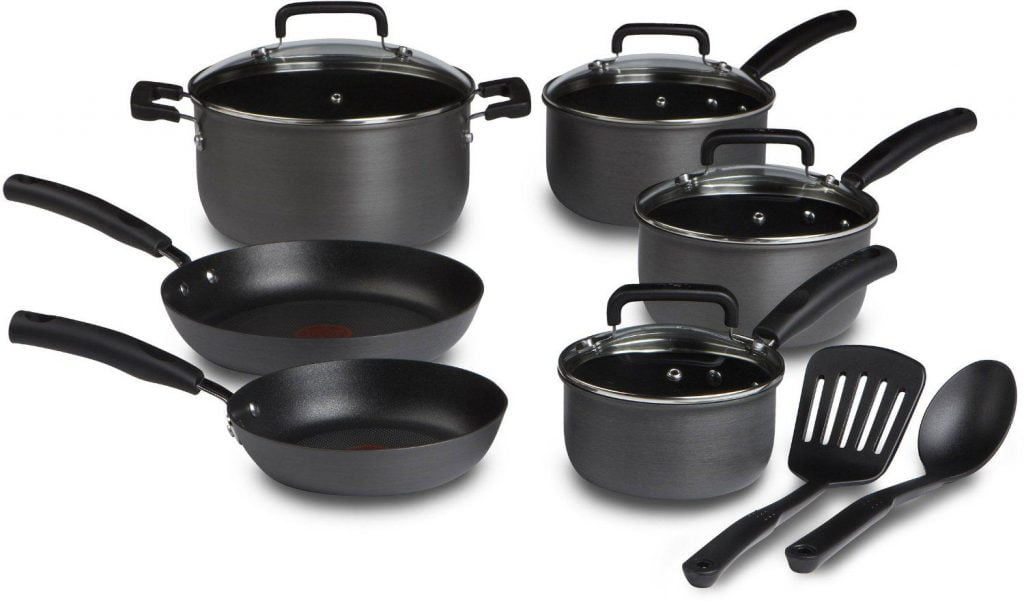 T Fal Signature Hard Anodized 12 Cookware Piece Set Review