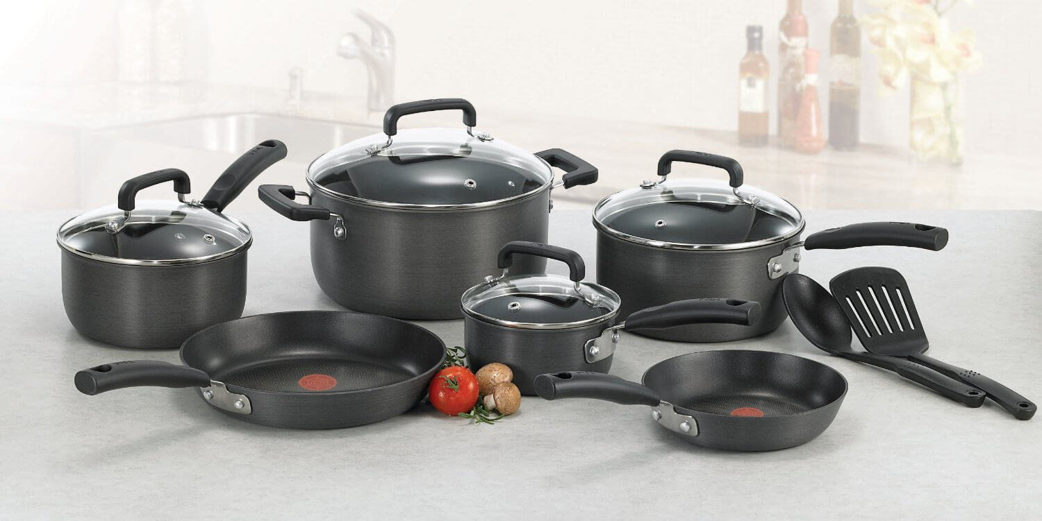 T-Fal Signature Hard Anodized 12 Cookware Piece Set Review1