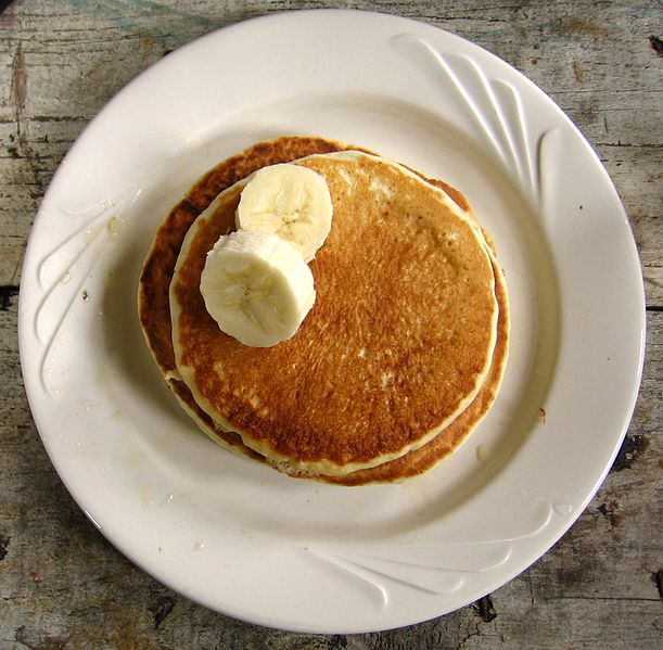 Banana Almond Pancakes Recipe ⋆ Unlimited Recipes
