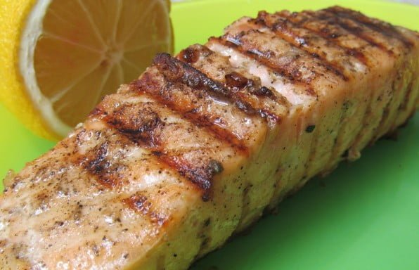 Lemon Garlic Dijon Sauce Salmon Recipe