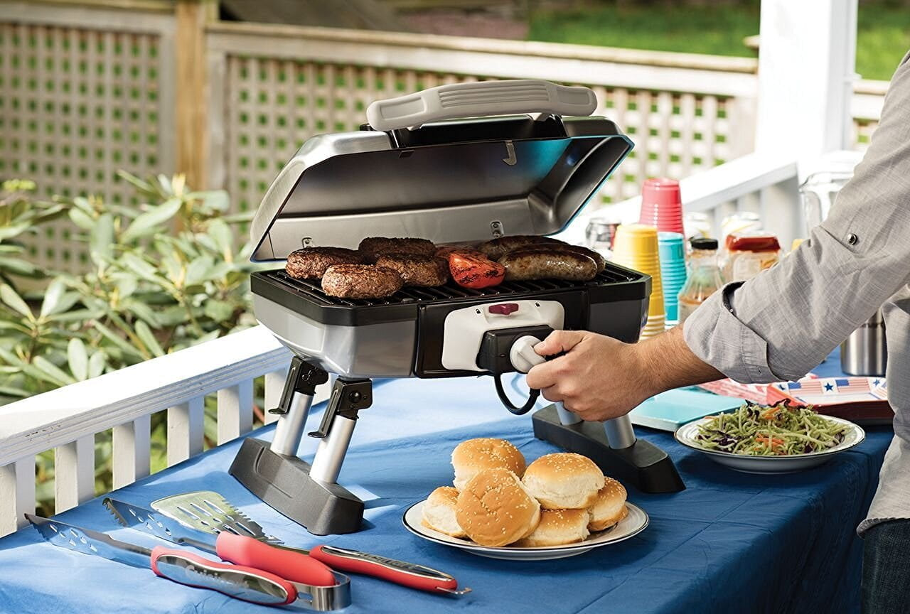 Cuisinart Outdoor Electric Tabletop Grill CEG-980 Review