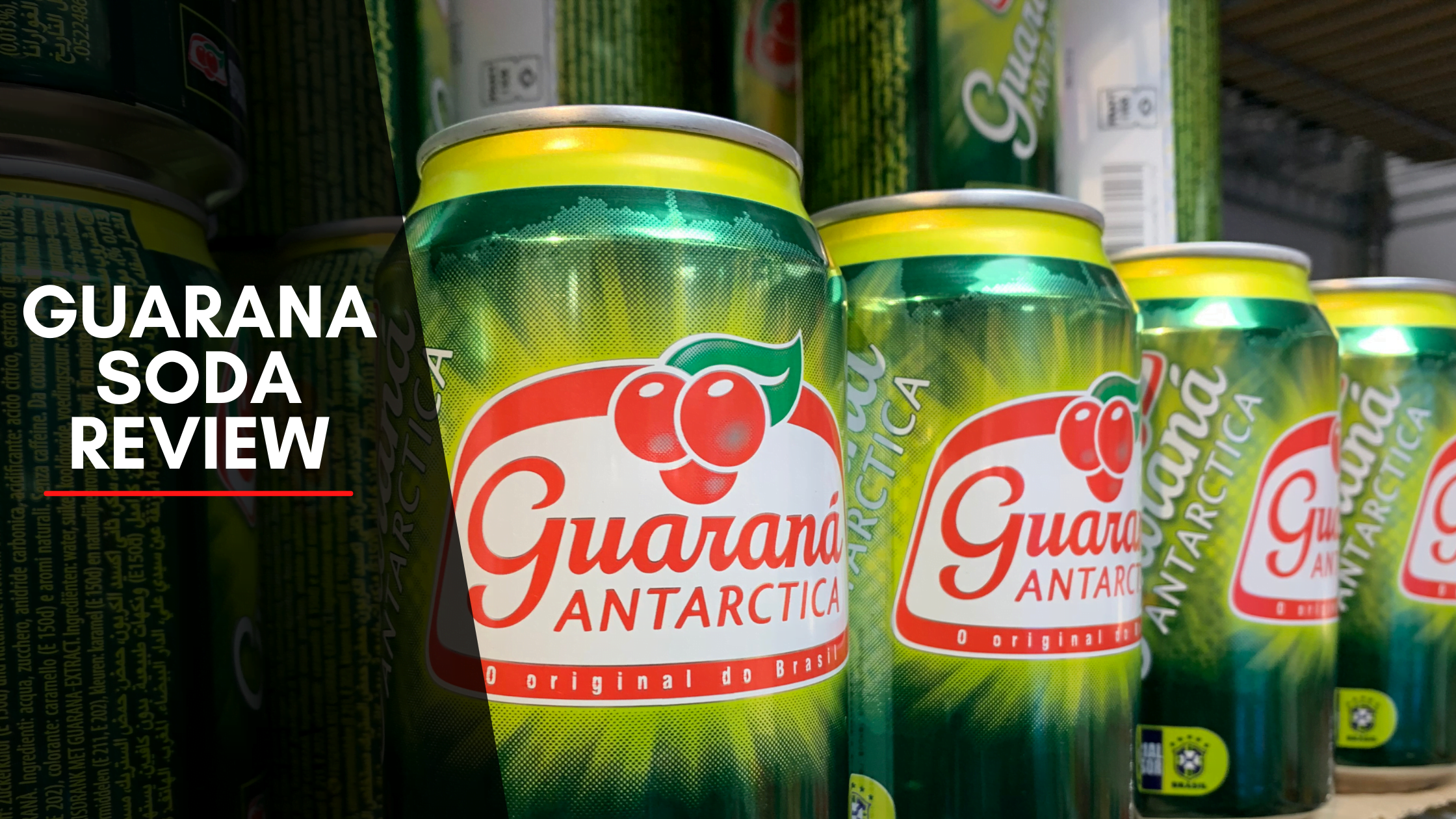 Guarana Soda Best Natural Energy Drink Review